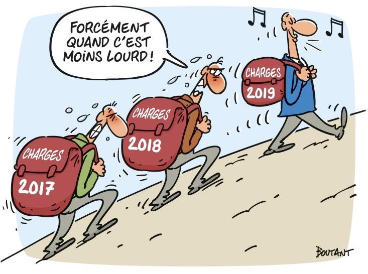 La diminution des charges sociales, un leurre du gouvernement ?